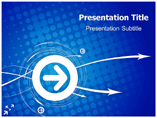 Blue Abstract Powerpoint Templates