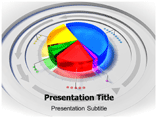 Pie Chart Icon PowerPoint Template