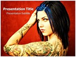 Tattoos Powerpoint Templates