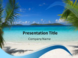 Beach Template PowerPoint