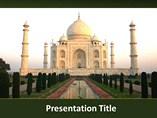 Taj Mahal PowerPoint Backgrounds