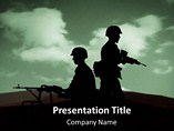 Army War PowerPoint Template