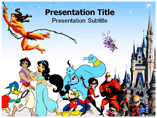 Disney Cartoons Templates For Powerpoint