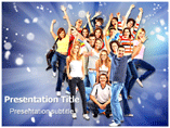 Happy Group Templates For Powerpoint