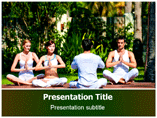 Yoga Workout Templates For Powerpoint