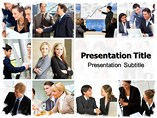 Business Context Services PowerPoint Template