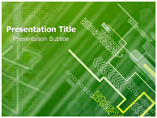 Green Backgrounds Templates For Powerpoint