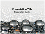 Templates For PowerPoint On Metal Balls