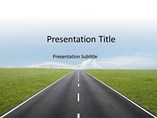 Powerpoint Templates - Highway