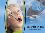 Kids Dental Care  PowerPoint Template