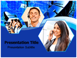 Tele communication System Templates For Powerpoint