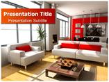 Modern Interior Design Templates For Powerpoint