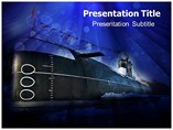 Navy Submarine PowerPoint Template