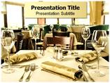 Lavish Restaurant Appearance Templates For Powerpoint