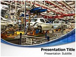 Automotive Industry Templates For Powerpoint, PowerPoint Slides On Automotive Industry