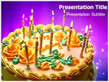 Happy Birthday Candles Templates For Powerpoint