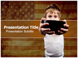 Hunger In Us Templates For Powerpoint