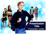 School Kids Templates For Powerpoint