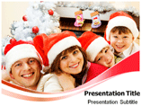 X Mas Family Destination Templates For Powerpoint