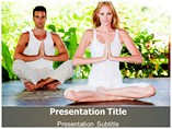 Yoga Video Youtube Templates For Powerpoint