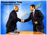 Business Deal Handshake Templates For Powerpoint
