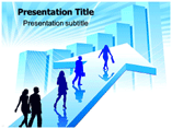Business People Silhouettes PowerPoint Templates