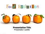 Food Evolution Templates For Powerpoint