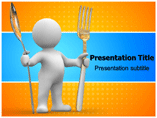 Fork Cut Templates For Powerpoint