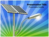 Solar Light PowerPoint Templates