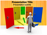 Alternative Choice Templates For Powerpoint