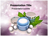 beauty cream Templates For Powerpoint