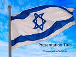 Powerpoint Templates - Israel Flag