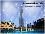 burj khalifa dubai PowerPoint Templates