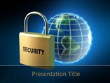 Technology Powerpoint Templates  - Internet Security