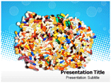 ColourFul Pills Templates For Powerpoint