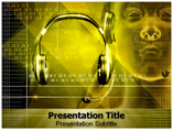 Ear Device Templates For Powerpoint