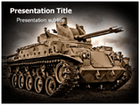 military tank Templates For Powerpoint
