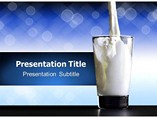 Fresh Milk Templates For Powerpoint