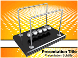 Newton Cradle Pics Templates For Powerpoint