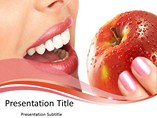 Teeth and Apple Templates For Powerpoint