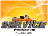 service desk PowerPoint Templates