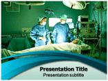 Surgeons In Operation Room Templates For Powerpoint