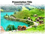 village Templates For Powerpoint