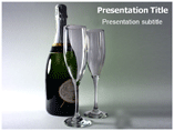 Champagne Templates For Powerpoint