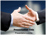 Handshake Etiquette Templates For Powerpoint