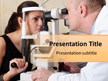 Eye Checkup Templates For Powerpoint
