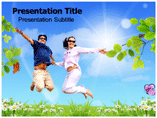 Be Happy Templates For Powerpoint