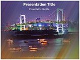 Decorated Bridge Templates For Powerpoint