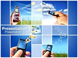 Mobile Communication Templates For Powerpoint