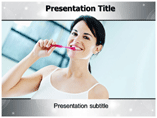 Oral Hygiene Aids Templates For Powerpoint